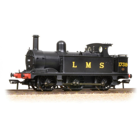 BRANCHLINE OO Midland Class 1F 1739 LMS Black Open Cab