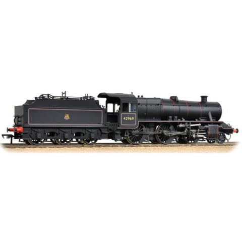 Image of BRANCHLINE OO LMS Stanier Mogul 42969 BR Lined Black