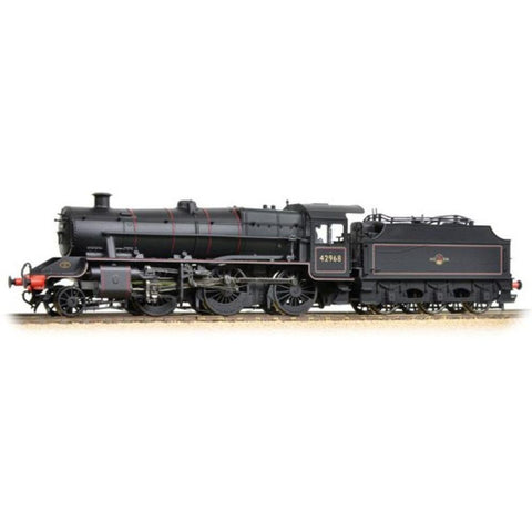 Image of BRANCHLINE OO LMS Stanier Mogul 42968 BR Lined Black L/Cres