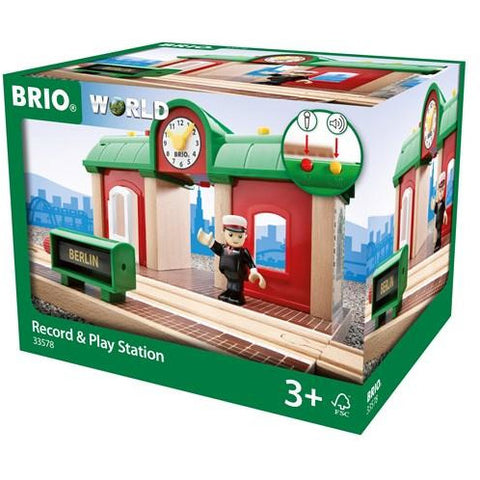 BRIO - Record and Play Station 3 pieces