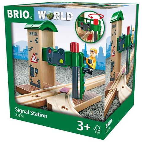 BRIO - Signal Station 2 pieces