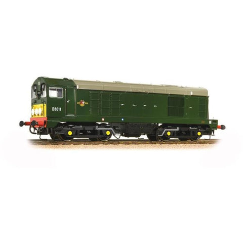 BRANCHLINE OO Class 20 D8011 BR Green Small Yellow Panel In