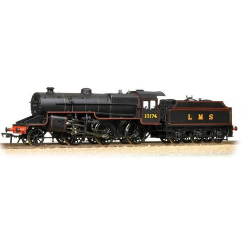 BRANCHLINE OO Crab 13174 LMS Lined Black Welded Tender