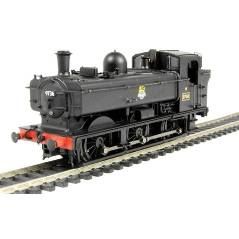 BRANCHLINE OO scale GWR 8750 Pannier Tank 8771 BR Lined Bla