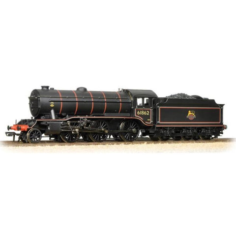 Image of BRANCHLINE OO K3 Class 61862 BR Lined Black Early Emblem