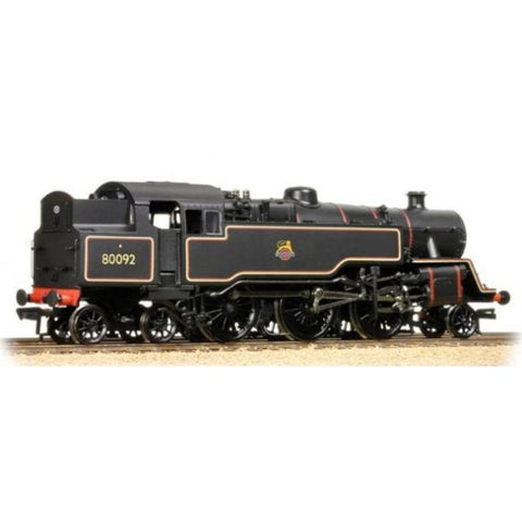Image of BRANCHLINE BR Standard Class 4MT Tank 80092 BR Black Early