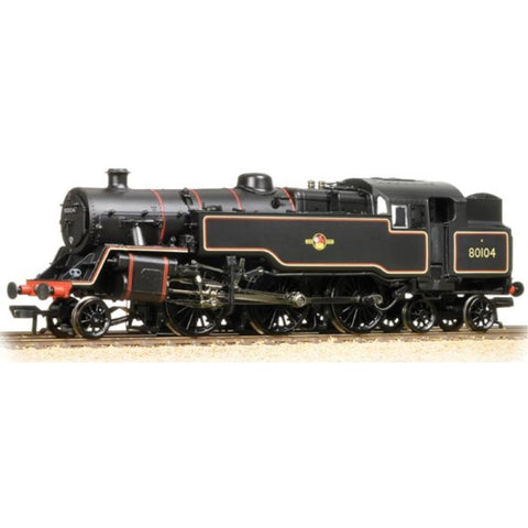 Image of BRANCHLINE OO BR Standard Class 4MT Tank 80104 BR Lined Bla