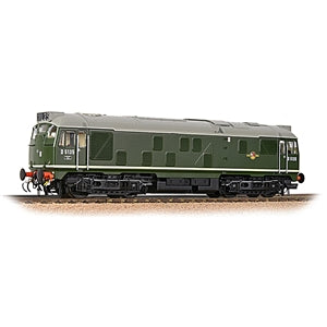 BRANCHLINE OO Class 24/1 D5135 BR Green (Late Crest)