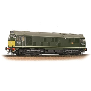 BRANCHLINE OO Class 24/1 D5149 BR Green Small Yellow Panel