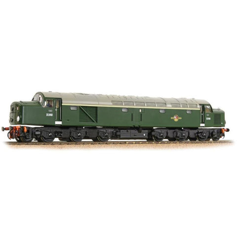BRANCHLINE OO Class 40 D248 BR Green Indicator Discs (32-48