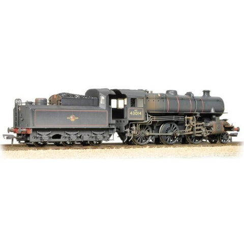 Image of BRANCHLINE Ivatt Class 4MT 43014 BR Lined Black Late Crest