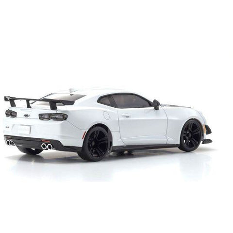 KYOSHO Mini-Z MR-03 Readyset Chevrolet Camaro ZL1 1LE Summit White W/ Led