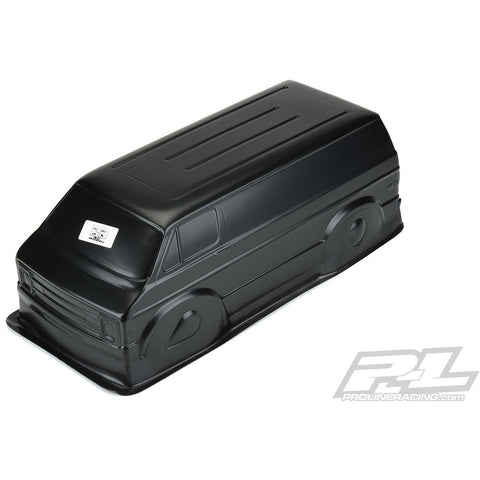 "PROLINE 70's Rock Van Tough-Colour (Black) Body for 12.3"" (313mm) Crawlers"