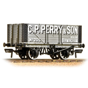 BRANCHLINE OO 7 Plank Fixed End Wagon C. P. Perry (37-117)