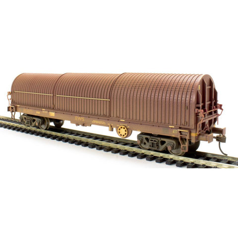 Image of BRANCHLINE OO 102 Tonne glw Thrall BRA Steel Strip Carrier