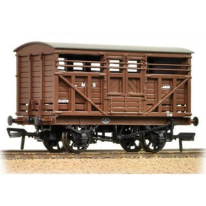 BRANCHLINE OO 12 Ton LMS Cattle Wagon LMS Brown