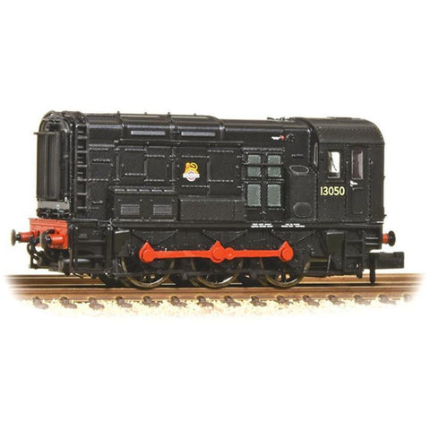 GRAHAM FARISH N Class 08 13050 BR Black Early Emblem