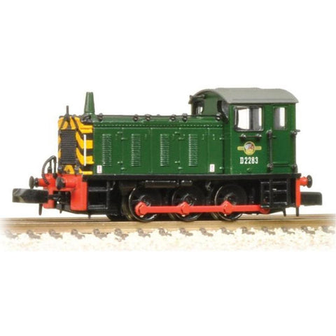 GRAHAM FARISH N Class 04 D2283 BR Green Warning Stripes