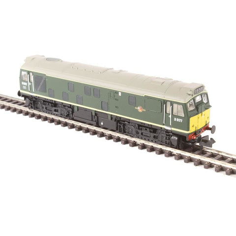 Image of GRAHAM FARISH N Class 25/1 D5177 BR Green