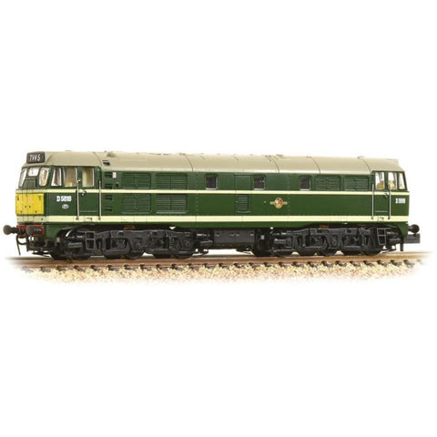 GRAHAM FARISH Class 31 D5616 BR Green Small Yellow Panel
