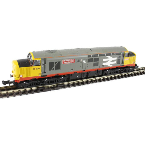 GRAHAM FARISH N Class 37/5 37506 Railfreight Red Stripe