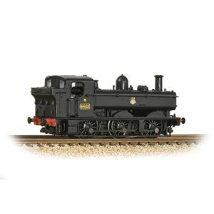 GRAHAM FARISH N GWR 64XX Pannier Tank 6422 BR Black (Early