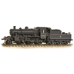 GRAHAM FARISH N Ivatt Class 2MT 2-6-0 46460 BR Early Emblem