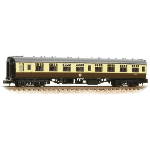 GRAHAM FARISH N BR Mk1 SK Second Corridor Chocolate & Cream