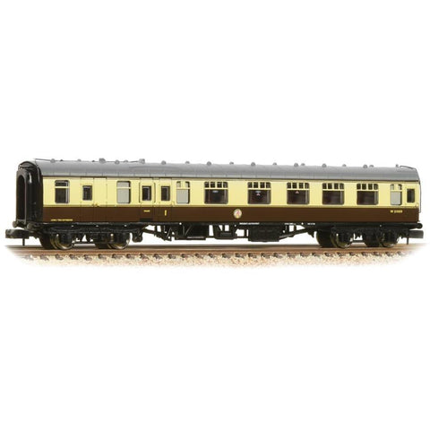 GRAHAM FARISH N BR Mk1 BCK Brake Second Corridor Chocolate