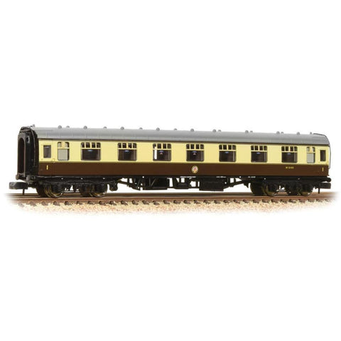 GRAHAM FARISH N BR Mk1 FK First Corridor Chocolate & Cream