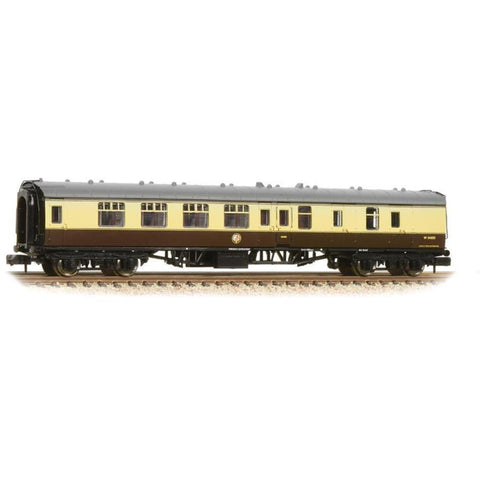 GRAHAM FARISH N BR Mk1 BSK Brake Second Corridor Chocolate