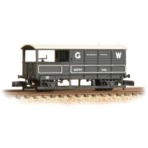GRAHAM FARISH N 20 Ton Toad Brake Van GWR Grey (377-375D)