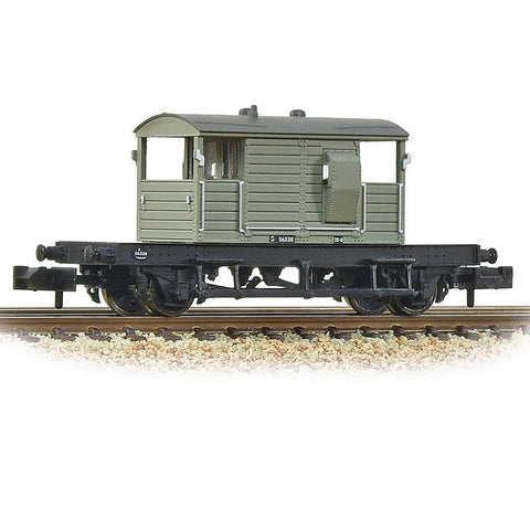 GRAHAM FARISH N SR 25T 'Pill Box' Brake Van Right Hand Duck