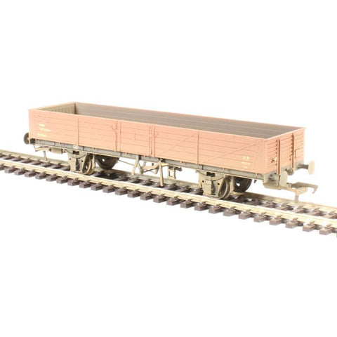 BRANCHLINE OO 22 Ton Tube Wagon BR Bauxite (Early) Weathered