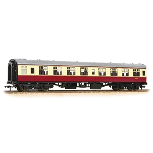 BRANCHLINE OO Mk1 TSO Second Open BR Crimson & Cream