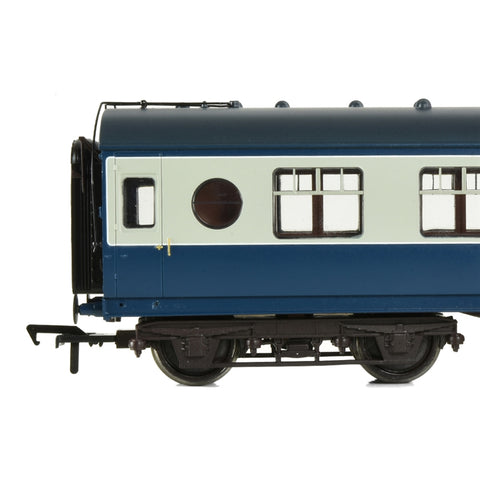 BRANCHLINE OO LMS 57ft 'Porthole' Second Corridor BR Blue &
