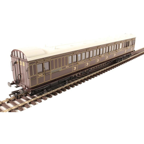 Image of BRANCHLINE OO SECR 60' Birdcage Brake Composite  Dark Lake
