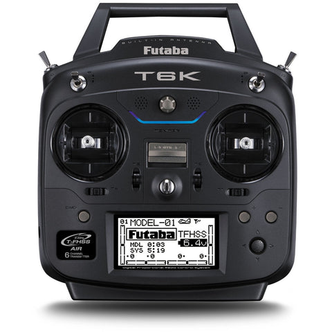 Image of FUTABA T6K 8 ch T-FHSS inc R3006SB Mode1 inc battery