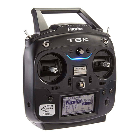 FUTABA T6K 8 ch T-FHSS inc R3006SB Mode1 inc battery