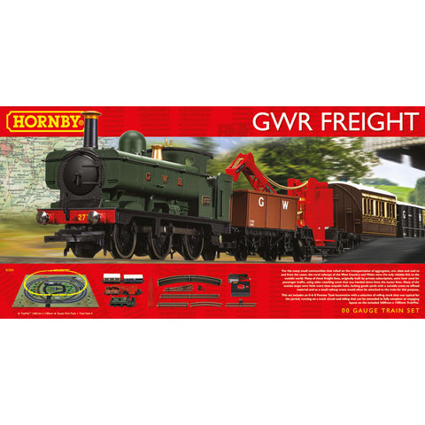 HORNBY OO - GWR Freight Train Set