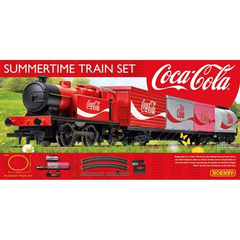 HORNBY Summertime Coca-Cola Train Set
