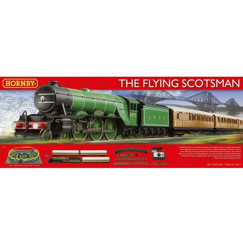 Image of HORNBY FLYING SCOTSMAN TRAIN SET