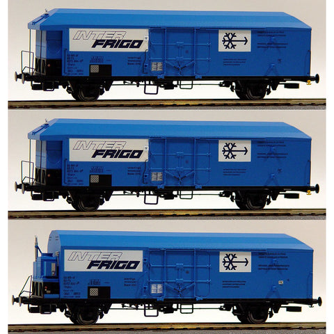 ACME HO Set Three Wagons Interfrigo