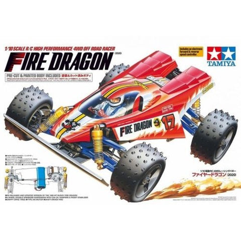 TAMIYA 1/10 Fire Dragon 4WD Electric Off Road Buggy Kit