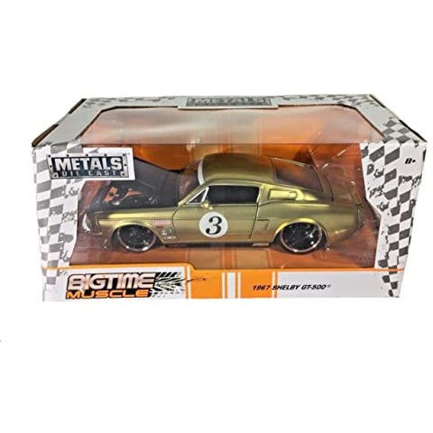 JADA 1/24 BTM 1967 Ford Shelby GT500 Champagne