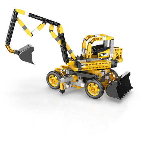 Image of ENGINO JCB 3 in 1 Tall Crane Motorized
