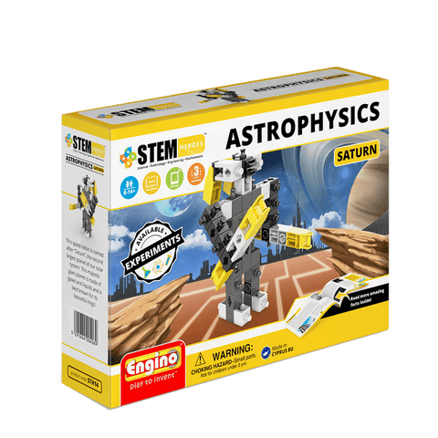 STEM Hero Astrophysics Saturn | By Engino