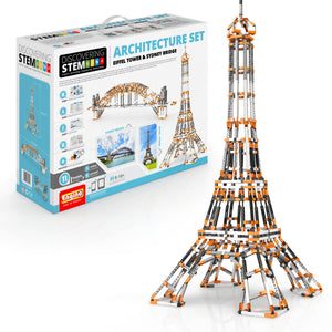ENGINO STEM Architecture Set: Eiffel Tower And Sydney Bridg