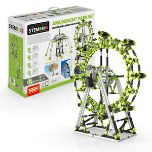 ENGINO STEM Amusement Park Set: London Eye And Ferris Wheel