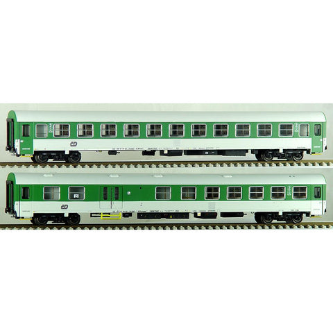 ACME HO Czech 2pc Passenger Coach Type Z Set